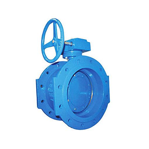 Flanged butterly valve: Double Eccentric Disc PN10/16