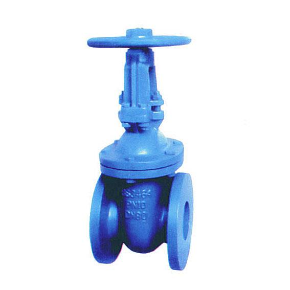 BS 3464 cast iron wedge gate valve