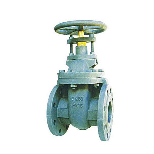 Cast iron wedge gate valve NRS/OS&Y