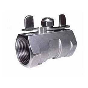 Reduce Port One-Sheet Hoop stainless steel ball valve