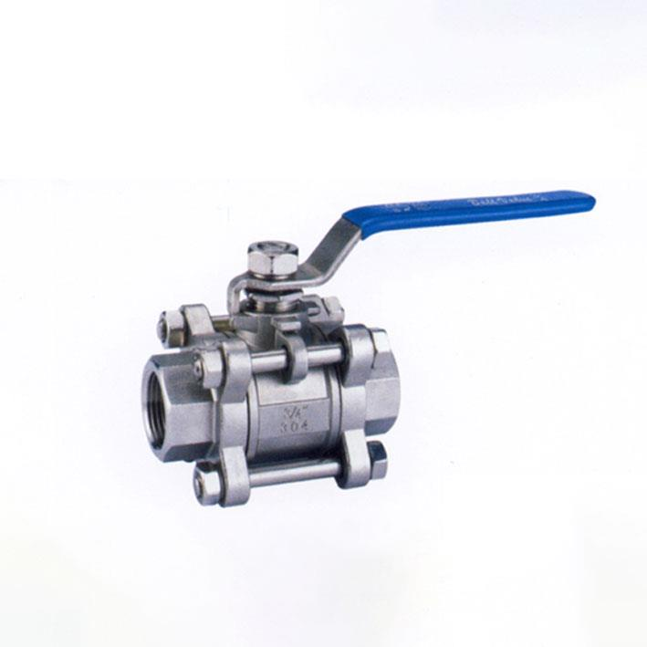 All-Nominal Three-Sheet Hoop Stainless Steel Ball Valve Fig2004