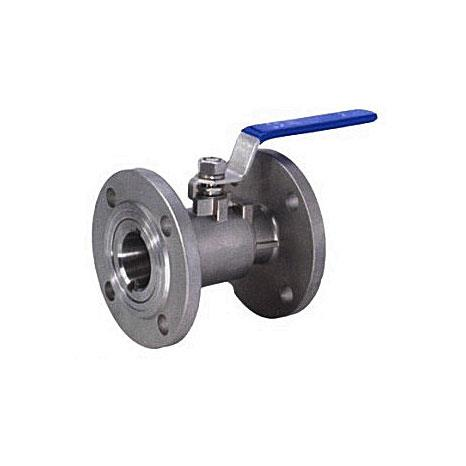 Whole type flanged ball valve (WCB, 304, 316)