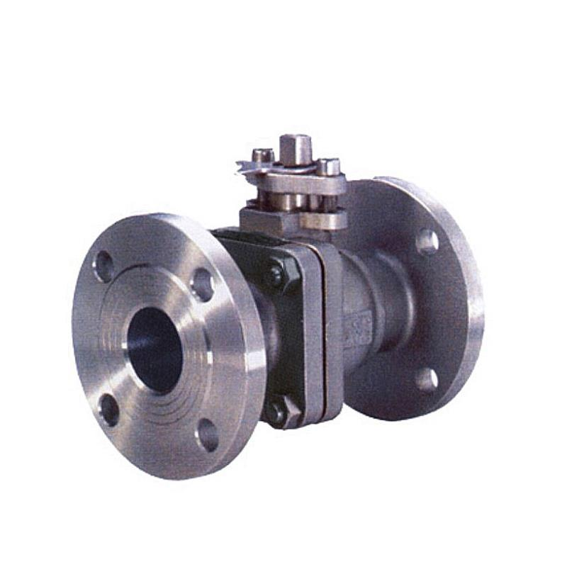 Ball valve with flange (WCB, CF8, CF8M)